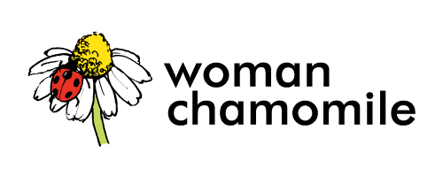 woman chamomile